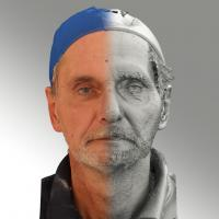 3D head scan of neutral emotion - Richard