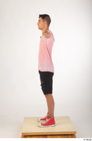 Colin black shorts clothing pink t shirt red shoes standing t-pose whole body 0003.jpg