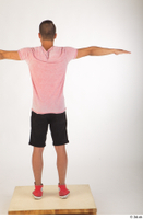 Colin black shorts clothing pink t shirt red shoes standing t-pose whole body 0005.jpg