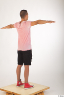 Colin black shorts clothing pink t shirt red shoes standing t-pose whole body 0006.jpg