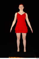 Vanessa Shelby red dress standing whole body 0001.jpg