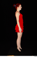 Vanessa Shelby red dress standing whole body 0003.jpg