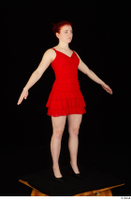 Vanessa Shelby red dress standing whole body 0010.jpg