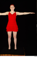 Vanessa Shelby red dress standing t poses whole body 0001.jpg