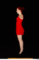 Vanessa Shelby red dress standing t poses whole body 0007.jpg