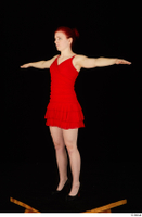 Vanessa Shelby red dress standing t poses whole body 0008.jpg
