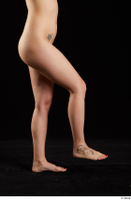 Lady Dee  1 flexing leg nude side view 0003.jpg